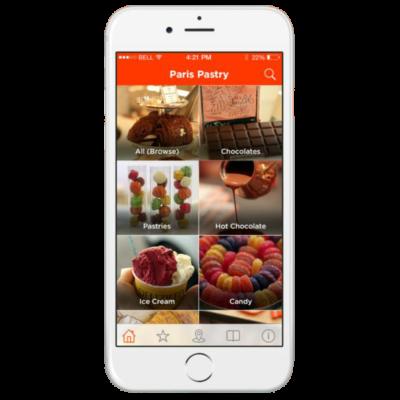 اپلیکیشن موبایل شیرینی یاب